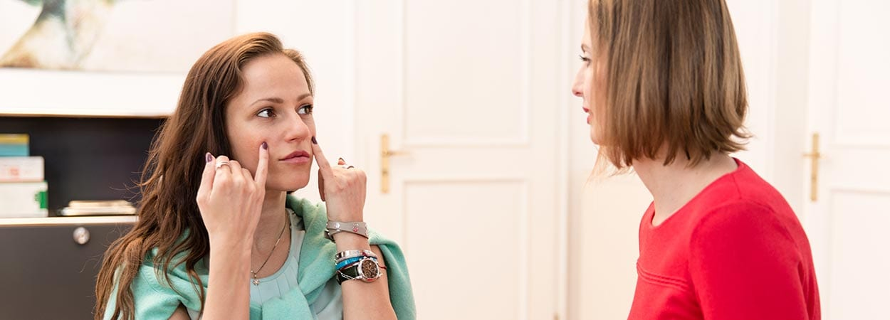 skin tightening Munich with botox and hyaluron