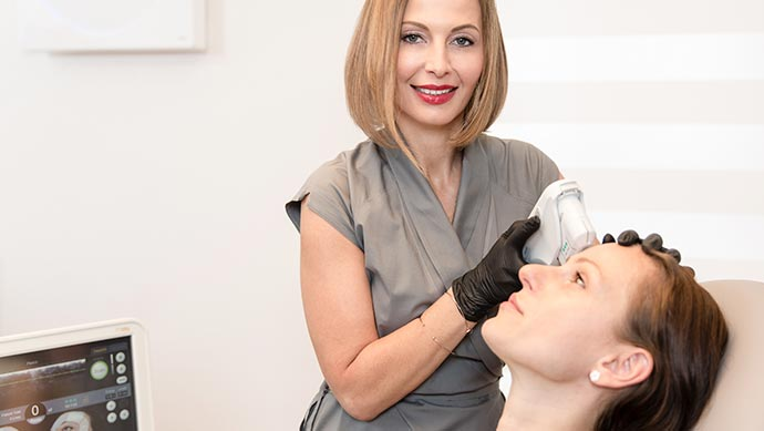 Ultherapy treatment in Munich